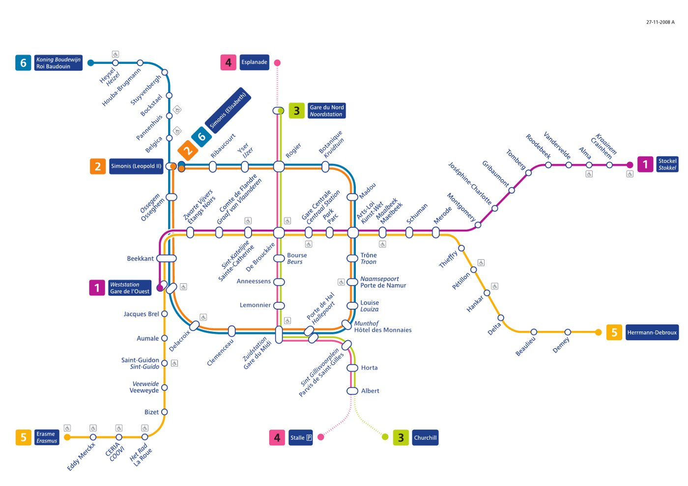 BrusselsHeart Information – Train Stations Brussels Map